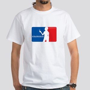 Major League Scrapbooker White T-Shirt