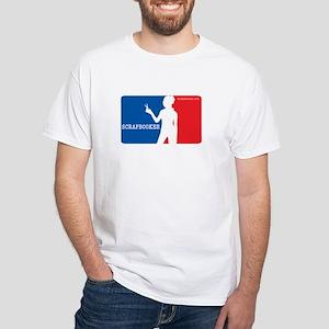 Major League Scrapbooker White T-Shirt