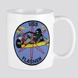 USS FLASHER Mug