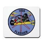 USS FLASHER Mousepad