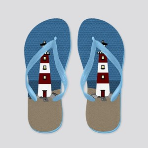 Lighthouse Flip Flops