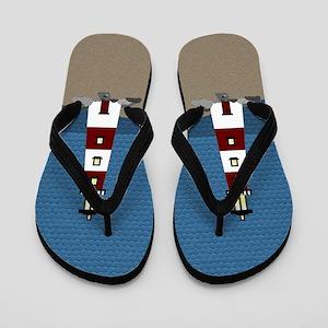 Lighthouse Flip Flops