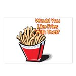 Like Fries With That? Postcards (Package of 8)
