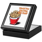 Like Fries With That? Keepsake Box