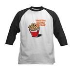 Like Fries With That? Kids Baseball Jersey
