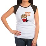 Like Fries With That? Women's Cap Sleeve T-Shirt