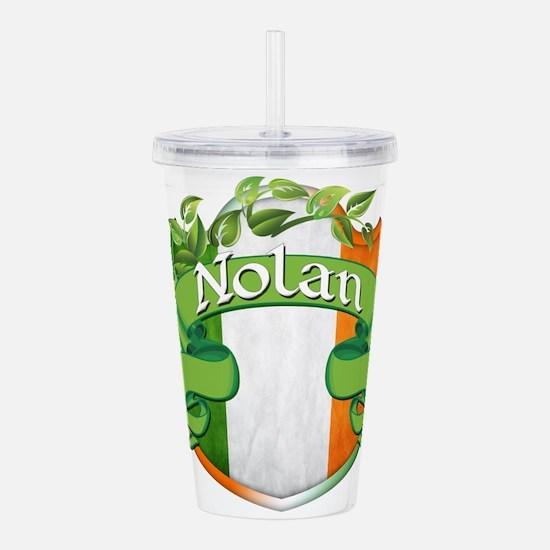 Nolan Shield Acrylic Double-wall Tumbler