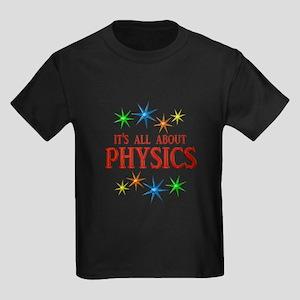 Physics Stars Kids Dark T-Shirt