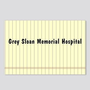 GREY SLOAN MEMORIAL HOSPI Postcards (Package of 8)