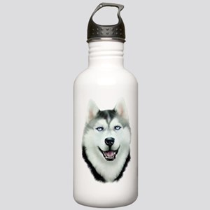 Siberian Husky Stainless Water Bottle 1.0L