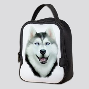 Siberian Husky Neoprene Lunch Bag