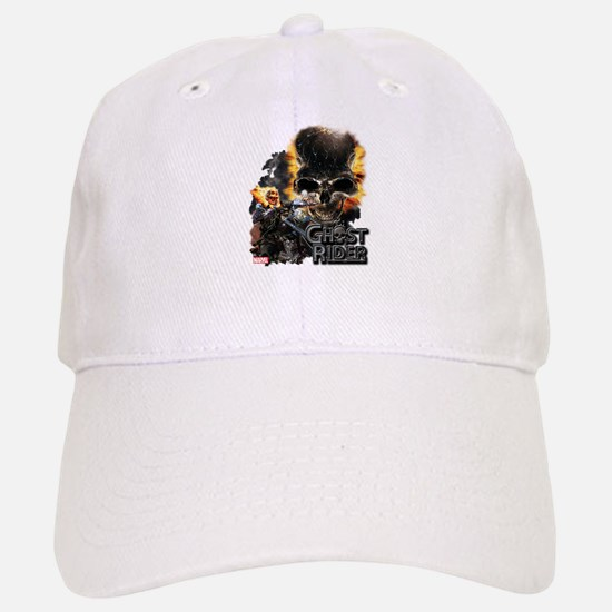Ghost Rider Skull Baseball Baseball Cap