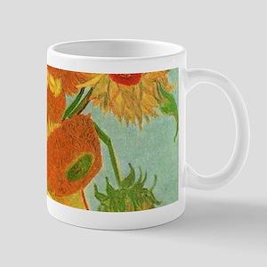 Vase with Twelve Sunflowers, Van Gogh Mugs