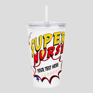 Nurse Super Hero Acrylic Double-Wall Tumbler