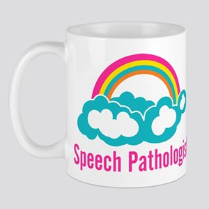 Cloud Rainbow Speech Pathologist Mug