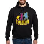 Evolution of Bigfoot Hoodie