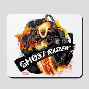 Ghost Rider Flames Mousepad