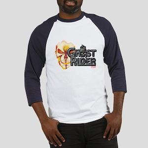 Ghost Rider Logo Baseball Jersey