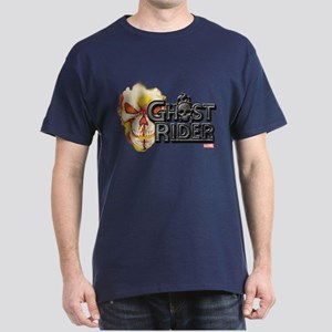 Ghost Rider Logo Dark T-Shirt