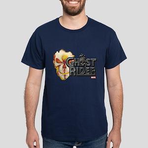 Ghost Rider Logo Dark T-Shirt