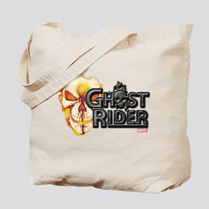 Ghost Rider Logo Tote Bag
