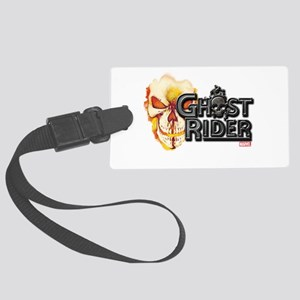Ghost Rider Logo Large Luggage Tag