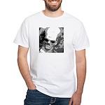 skull/trick or treat White T-Shirt