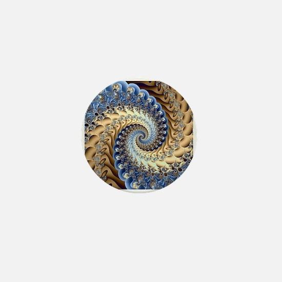 Cute Fractal art Mini Button
