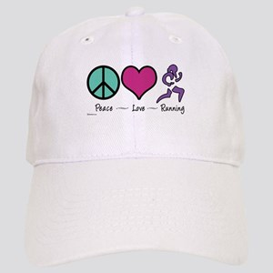 Peace- Love- Running Cap