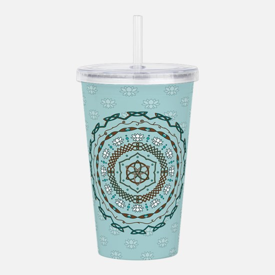 Lotus Weave Acrylic Double-wall Tumbler