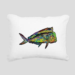 NEW WAVES Rectangular Canvas Pillow
