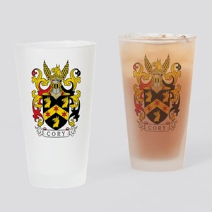 Cory Family Crest Drinking Glass