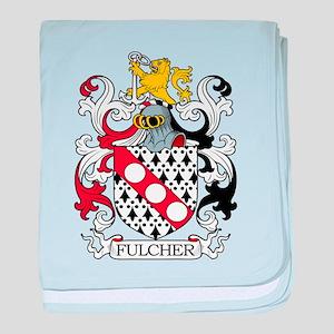 Fulcher Family Crest baby blanket