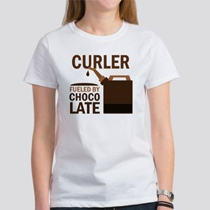 Curler Fueled by chocolate Women's T-Shirt
