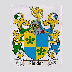Fielder Family Crest Throw Blanket