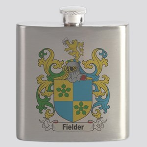Fielder Family Crest Flask