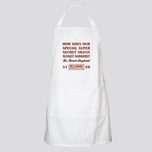 HOW GOES OUR... Apron