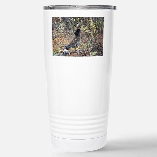 Partridge 3 Stainless Steel Travel Mug