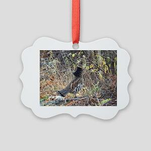 Partridge 3 Picture Ornament