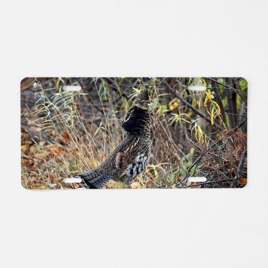 Partridge 3 Aluminum License Plate