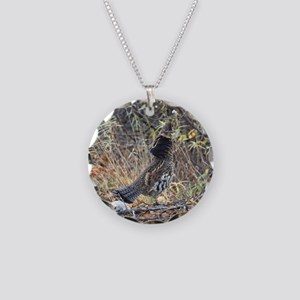 Partridge 3 Necklace Circle Charm