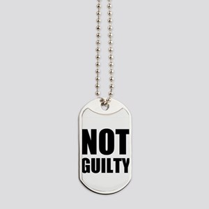Not Guilty Dog Tags
