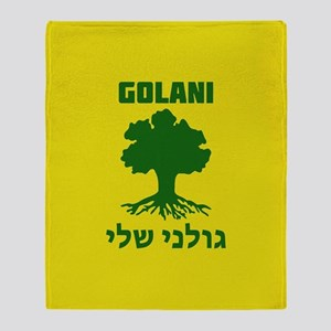 Israel Defense Forces - Golani Sheli Throw Blanket