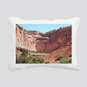 Capitol Reef National Pa Rectangular Canvas Pillow