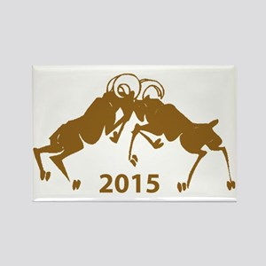 Chinese Year of The Sheep 2015 Rectangle Magnet