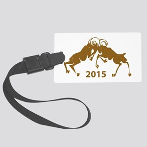 Chinese Year of The Sheep 2015 Large Luggage Tag