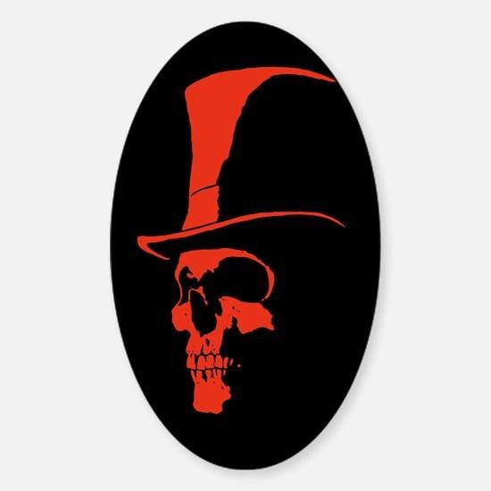 Dead Astaire Sticker (Oval)