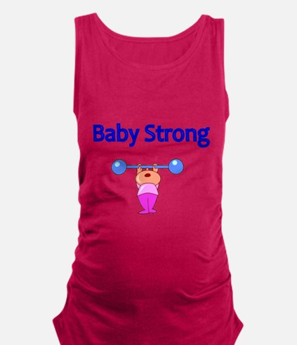 Baby Strong Maternity Tank Top