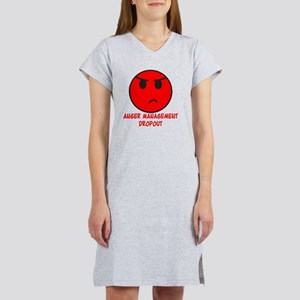 Anger Management Dropout Women's Nightshirt