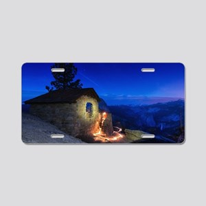 Glacier Point Yosemite Aluminum License Plate